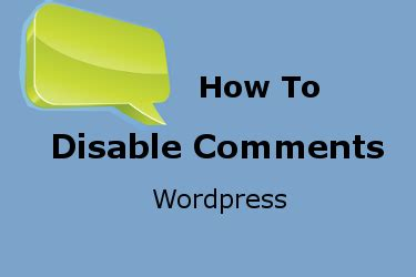 Thesis disable comments posts